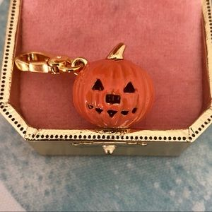 Juicy Couture Rare Halloween Carved Pumpkin Charm